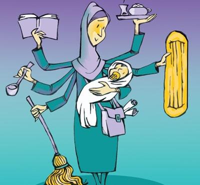 طنز/ کارکردن زنان ممنوع!