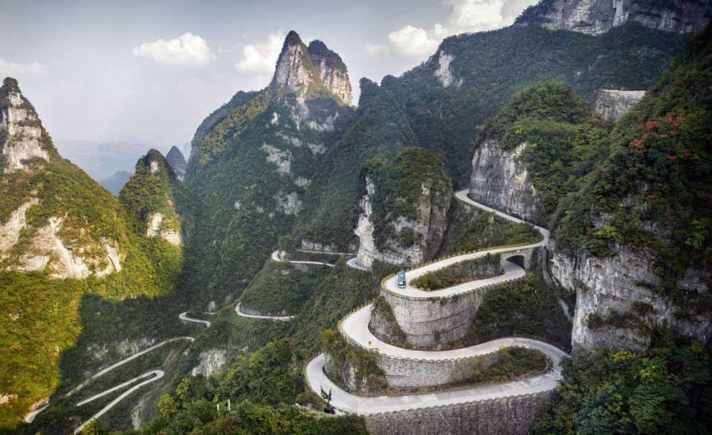 تصاویر هوایی از چین
