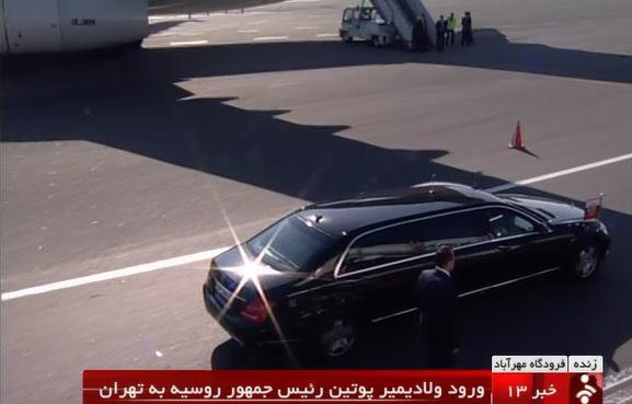 ایران و روسیه,ولادیمیر پوتین
