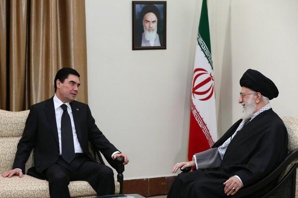 آیتالله خامنهای رهبر معظم انقلاب,ایران و روسیه,ولادیمیر پوتین,ترکمنستان