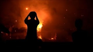 آتش سوزی گسترده در منطقه فقیر نشین مانیل