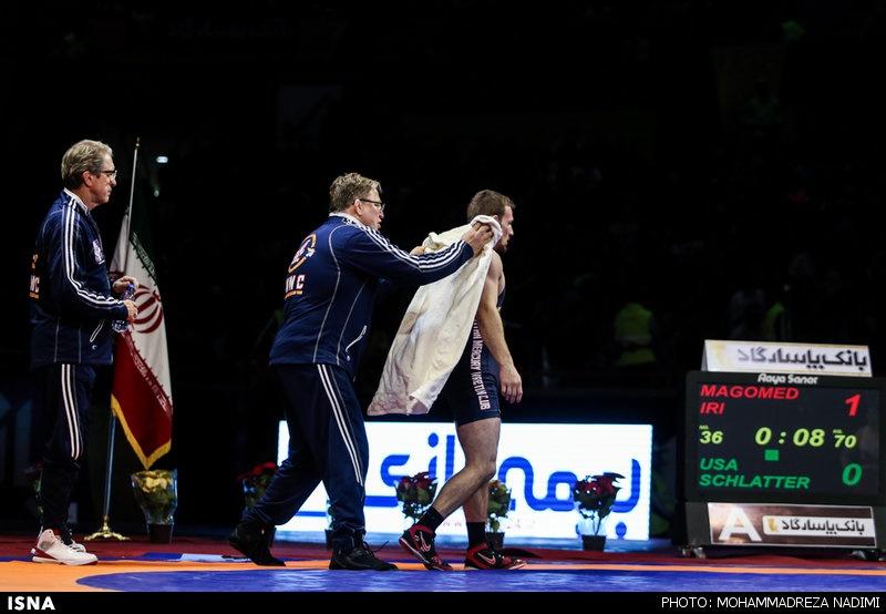 انتقاد مربی آمریکایی از قهرمان المپیکی که اسیر فنون رضا یزدانی شد
