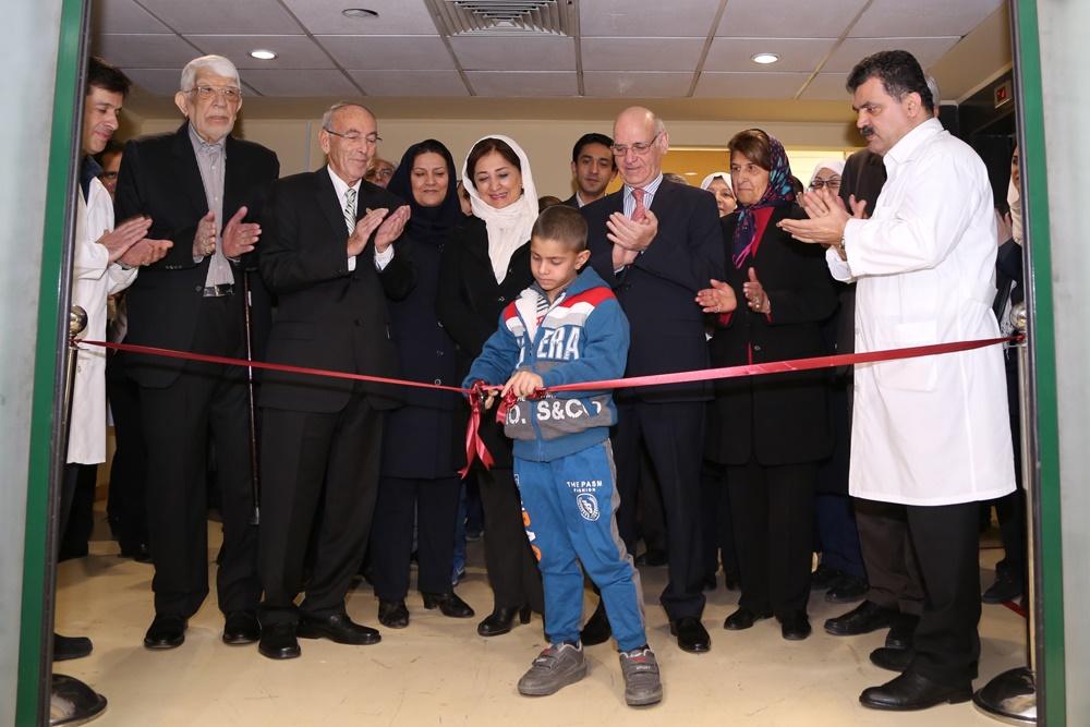 اولین «بخش درد سرطان کودکان» در ایران افتتاح شد