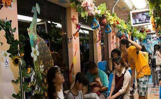 قطاری متفاوت در چین