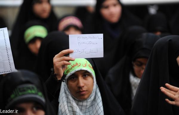 آیتالله خامنهای رهبر معظم انقلاب,دانشآموز