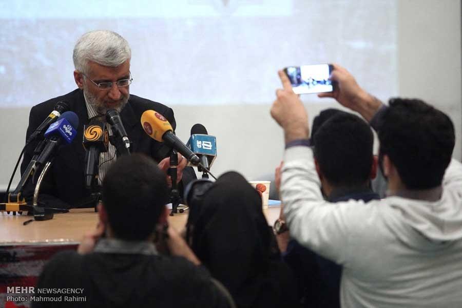 تصاویری از سخنرانی سعید جلیلی در همایش زنده باد مرگ بر آمریکا