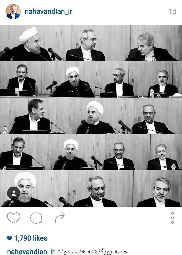 دولت یازدهم,حسن روحانی,اینستاگرام,چهرهها در اینستاگرام