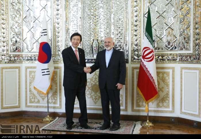 محمدجواد ظریف,کره جنوبی