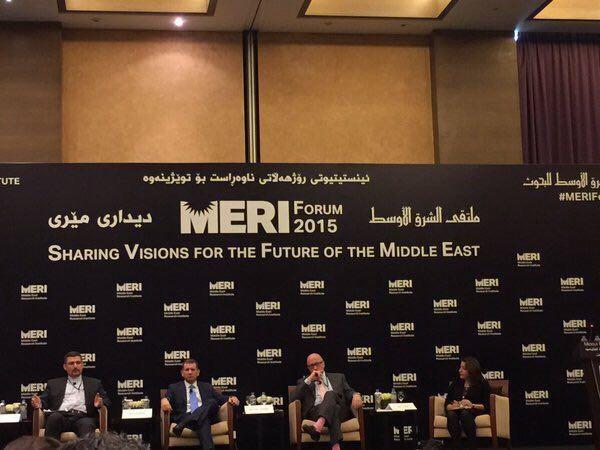بحث و مناظره داغ دیپلمات ایرانی و کنت پولاک آمریکایی در اجلاس اربیل