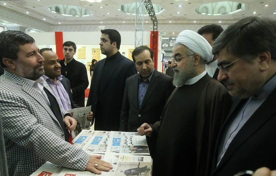 جشنواره مطبوعات,حسن روحانی