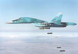 همه چیز درباره سوخو ۳۴؛جنگنده کلیدی روسیه در عملیات سوریه/اینفوگرافیک
