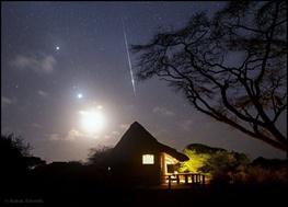 ماه،سیارهها و شهاب ثوری/عکس ستارهشناس ایرانی که تصویر روز ناسا شد