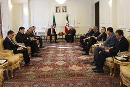 حسن روحانی,ایران و الجزایر