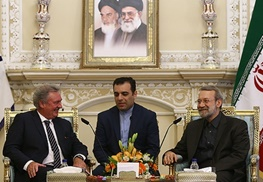 علی لاریجانی,ایران و روسیه,روسیه