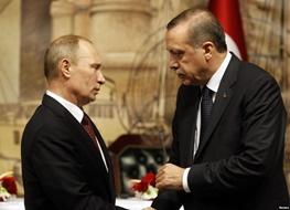 ترکیه,رجب طیب اردوغان,روسیه,ولادیمیر پوتین