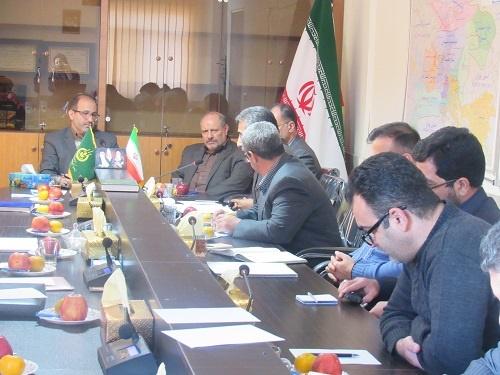 جلسه بررسی وضعیت مشکلات و مسائل شرکت تعاونی روستایی اشتهارد برگزار گردید
