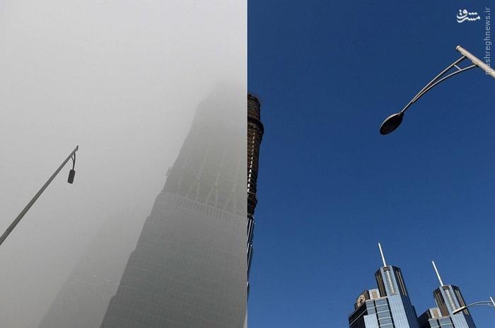 پکن، قبل و بعد از آلودگی