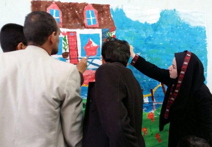 تصاویری از طرح با من بخوان در مدارس زاهدان/ آموزش ۸۰ معلم