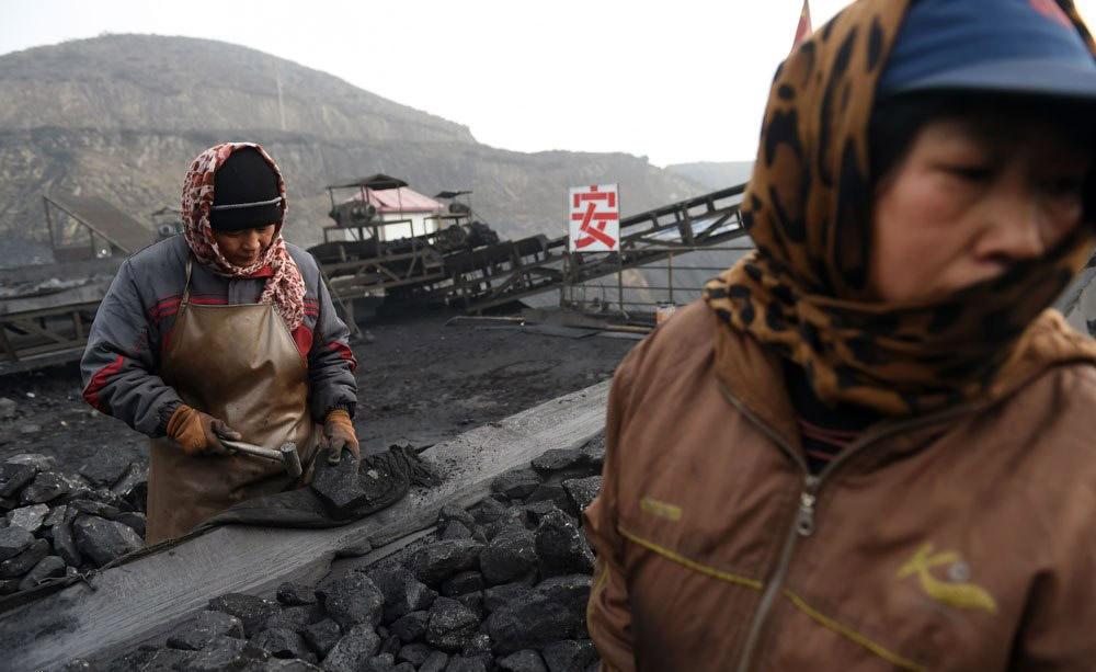معدن زغال در چین