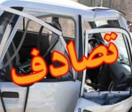 یک کشته و شش مصدوم براثر تصادف خودرو در البرز
