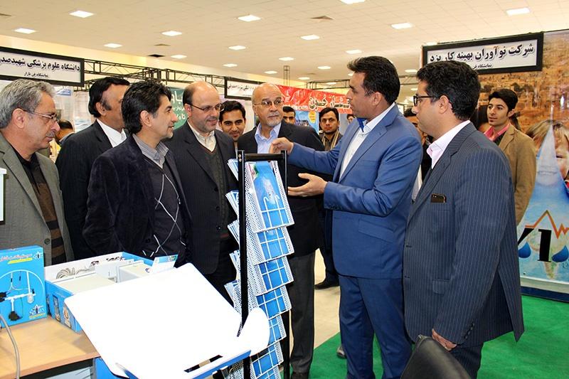 گشایش نمایشگاه فن بازار استان در دانشگاه یزد