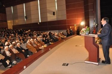 استاندار در کنگره شیخ مجتبی قزوینی:  مجتهدین برای استفاده صحیح مردم از تکنولوژیهای نوین تلاش کنند