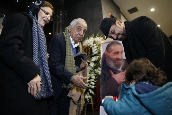 یادمان یکمین سالگرد درگذشت انوشیروان ارجمند برگزار شد