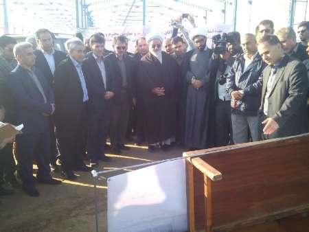 عملیات اجرایی نخستین کارخانه تولید بلوک هبلکس در مهران آغاز شد