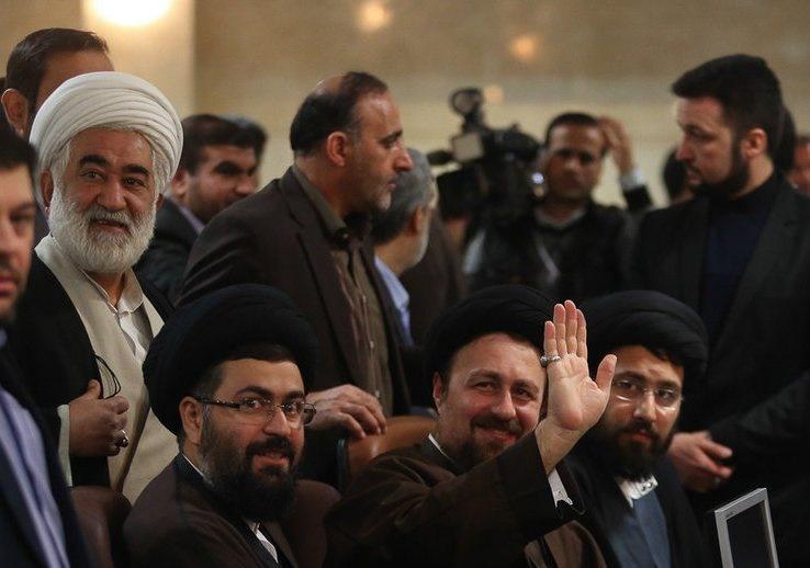 یاسر خمینی,سید حسن خمینی,مجلس خبرگان