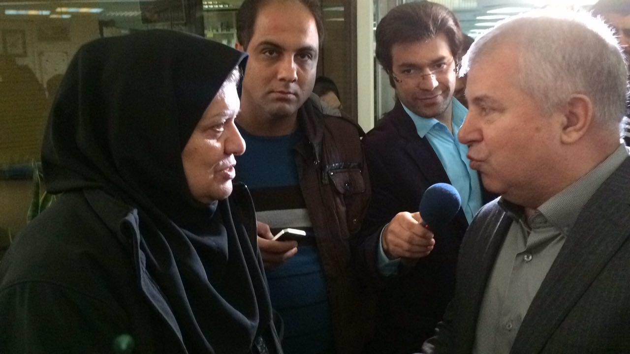 توصیه پروین به همسر پورحیدری: اجازه نده دور و بر فوتبال بیاد
