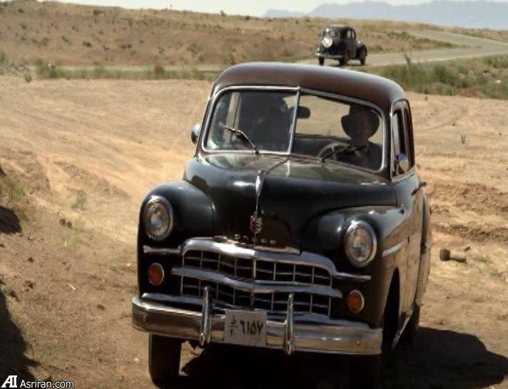 ماشین دوج ۶۶ ساله سریال شهرزاد مال کیست؟