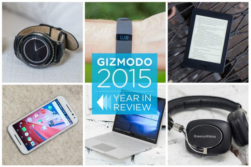 20 گجت برتر 2015 از نگاه گیزمودو: از ساعت و دوربین هوشمند تا ابزار واقعیت مجازی هولولنز