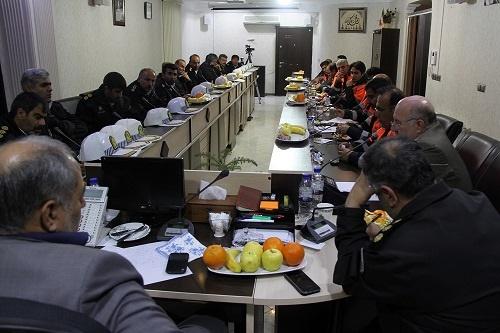 نشست مشترک راهداران اداره کل راه وشهرسازی استان البرز با پلیس راه استان برگزار شد .