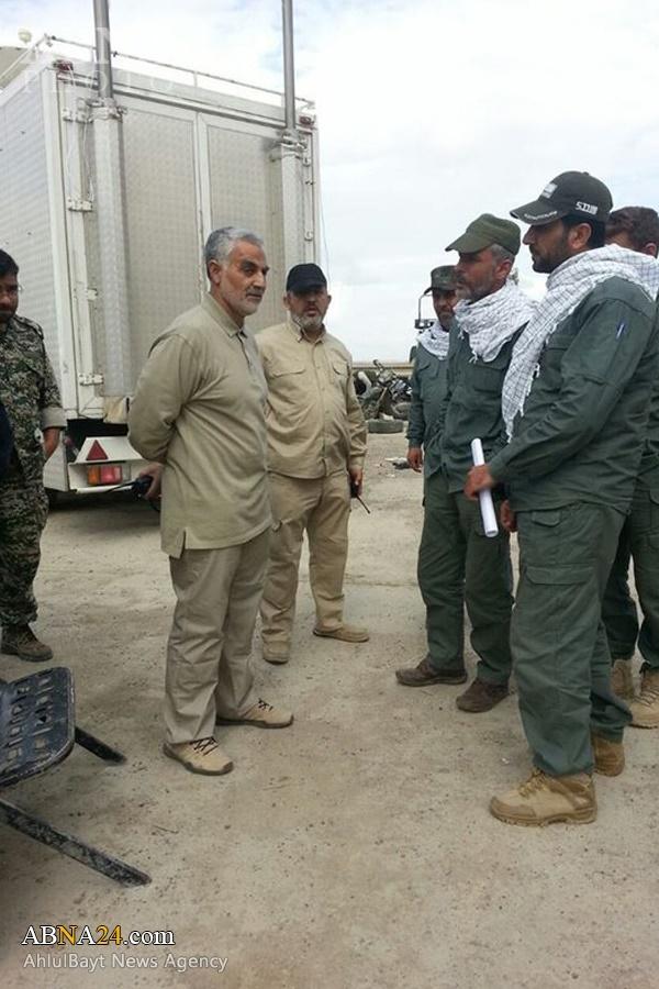 قاسم سلیمانی,ایران و عراق