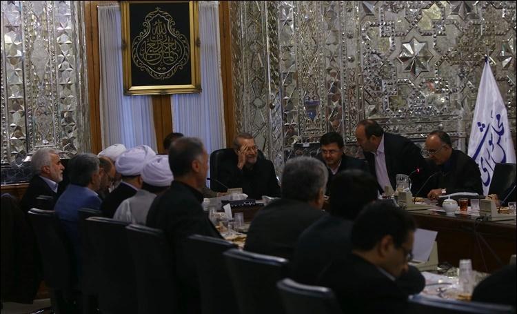 مجلس نهم,علی لاریجانی,فراکسیون اصولگرایان رهروان ولایت