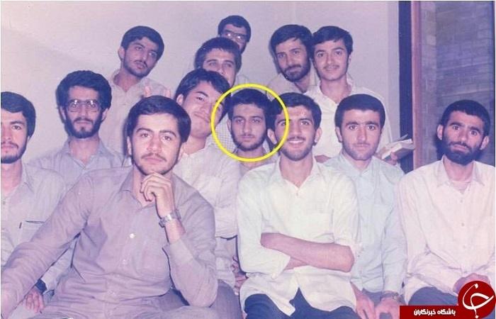 سعید جلیلی در دوران دانشجویی
