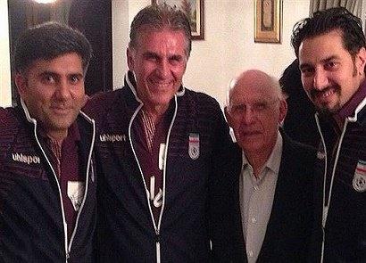 بستری شدن یک هفته ای پزشک تیم ملی فوتبال ایران در بیمارستان