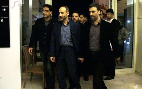 رییس سازمان صدا و سیما به جشنواره فیلم فجر آمد