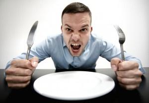 چرا مردان غذای خود را زودتر تمام میکنند؟