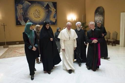 دیدار مولاوردی با «پاپ فرانسیس»