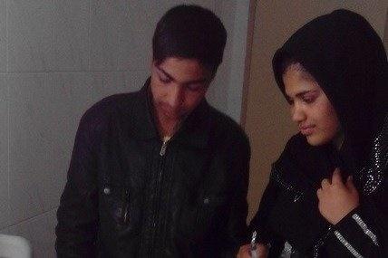 جوان ترین پدر ایران در تامین غذا و درمان فرزندش درمانده/ بخاری نبود، بچه بیمار شد