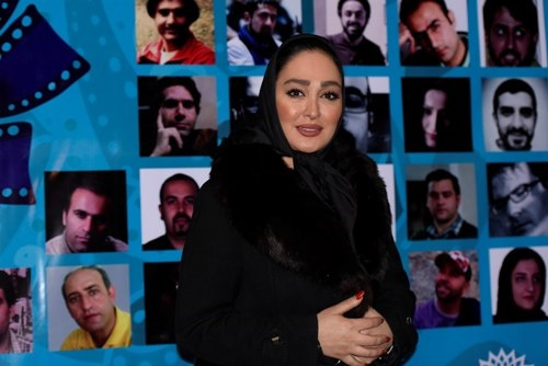 الهام حمیدی، شاهرخ استخری، پوریا پورسرخ و علی انصاریان در افتتاحیه اکران «دوربین»
