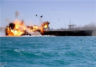 نمایش کابوس «مارینزهای آمریکایی» در تنگه هرمز/ شلیک ۴۰۰ فروند راکت ۱۰۷ میلیمتری و موشکهای نصر