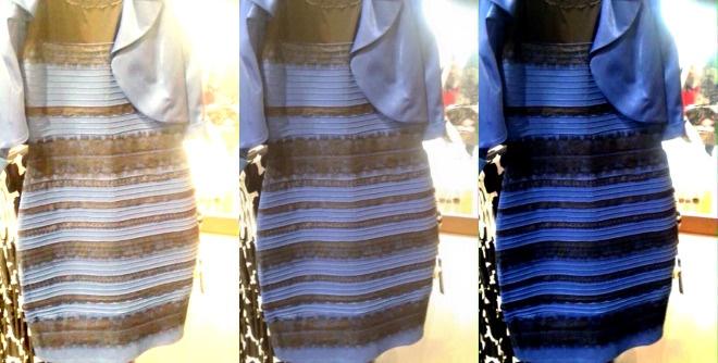 بالاخره این لباس چه رنگی است، آبی-مشکی یا سفید-طلایی؟