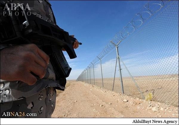 تصاویری از دیوار امنیتی 800 کیلومتری عربستان برای مقابله با داعش