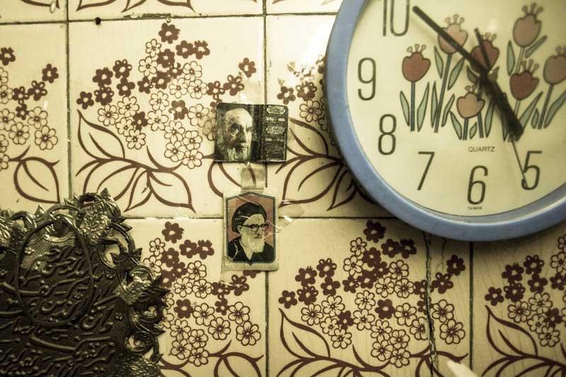 عکس های امام خمینی (ره) در قاب دیوارها