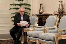 محمدجواد ظریف, بان کی مون