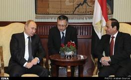 عبدالفتاح السیسی,مصر,روسیه,ولادیمیر پوتین
