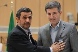 اسفندیار رحیم مشایی,محمود احمدی نژاد,عبدالرضا مصری