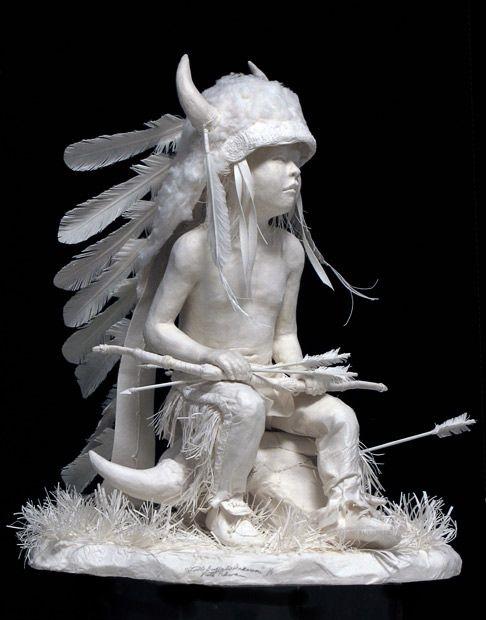 هنر مجسمهسازی؛ این بار با کاغذ